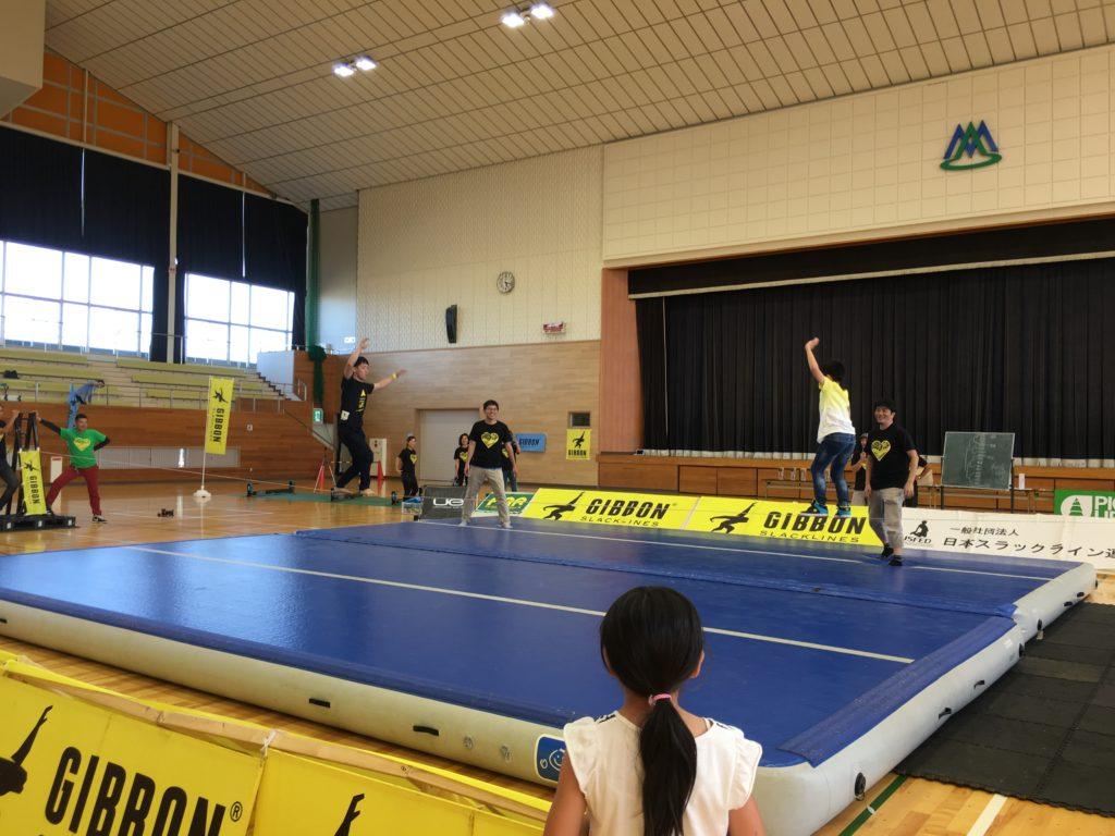 ギボンカップ山梨大会 ミニゲーム
