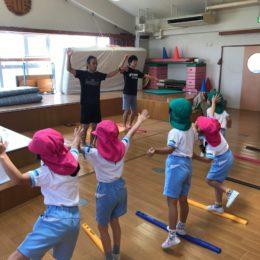 幼稚園 バランストレーニンググッズ 導入レッスン