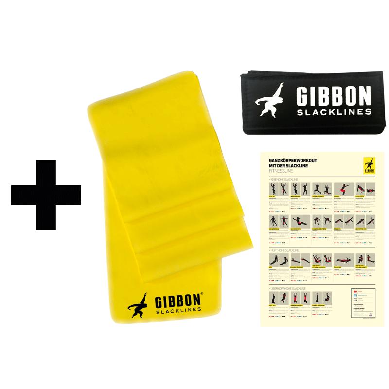 GIBBON フィットネスラック ストレッチバンド