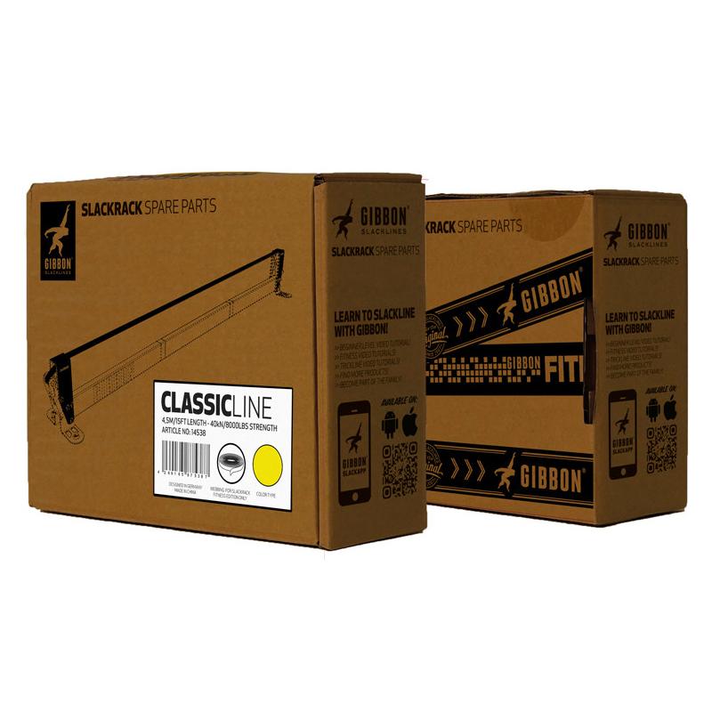 GIBBON スラックラック用交換ライン パッケージ