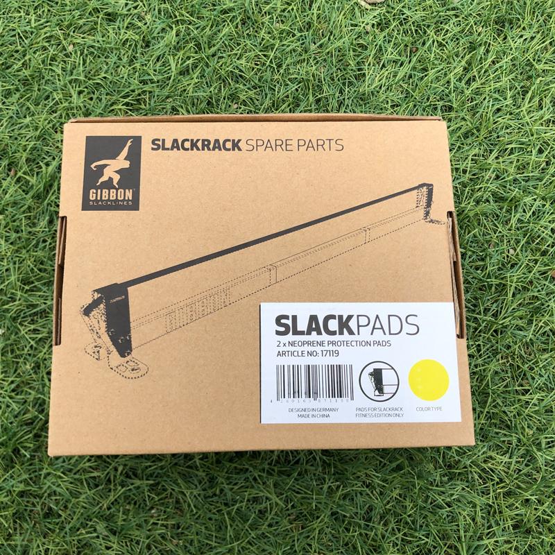 GIBBON スラックラック用交換パッド パッケージ