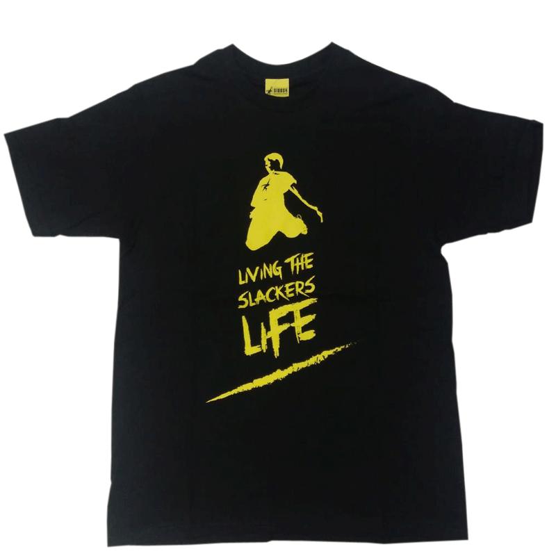 GIBBON JAPAN スラッカーズライフTシャツ ブラック