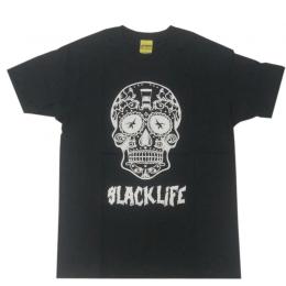 GIBBON JAPAN スカルTシャツ ブラック