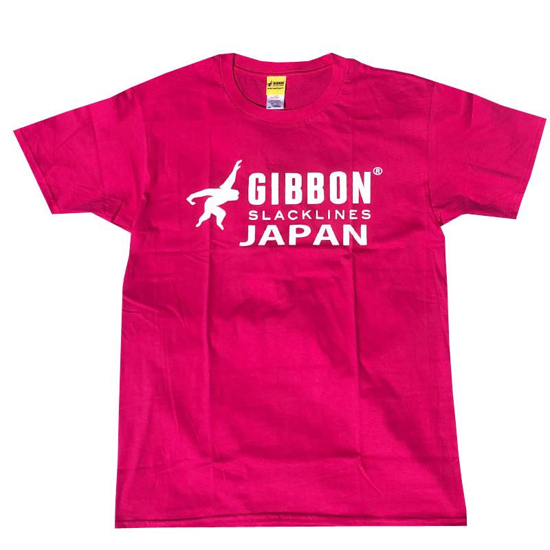 GIBBON JAPAN ロゴTシャツ ピンク