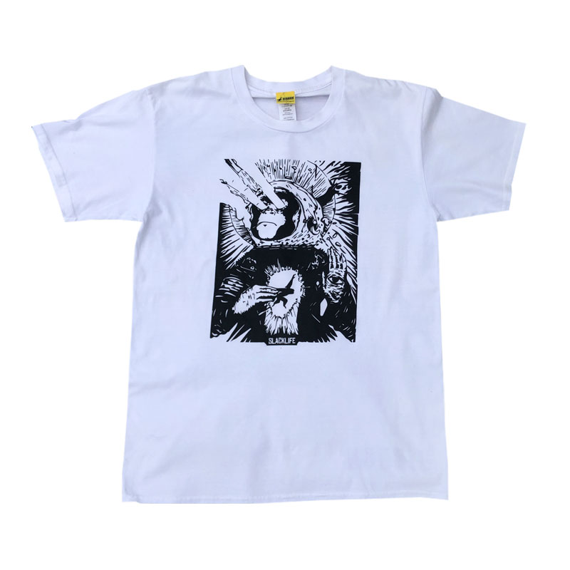GIBBON JAPAN スペースモンキー Tシャツ フロント