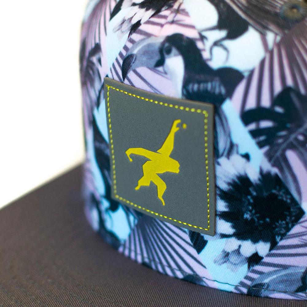 GIBBON スナップバックキャップ BIRD ロゴ