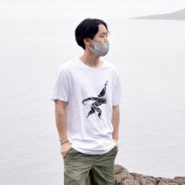 GIBBON コットンTシャツ THE ONE ホワイト