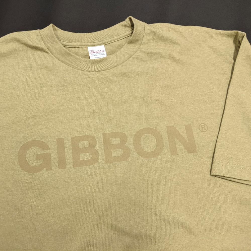 GIBBON ビッグシルエットTシャツ