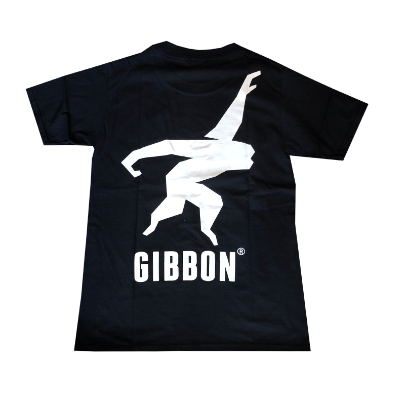 GIBBON JAPAN ロゴTシャツ ブラック