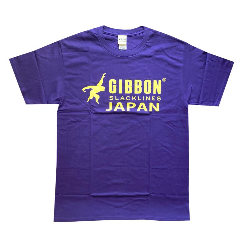 GIBBON JAPAN ロゴTシャツ パープル