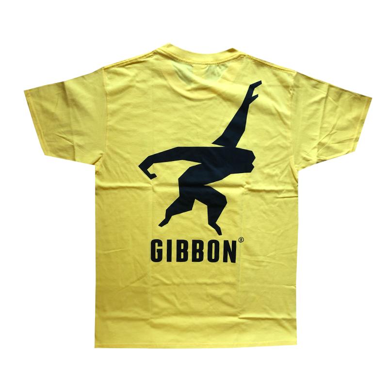 GIBBON JAPAN ロゴTシャツ イエロー