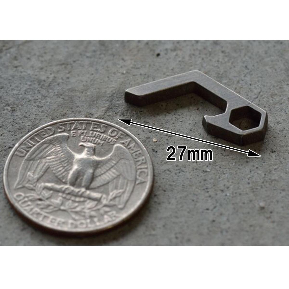 マイクロ 栓抜き チタン合金